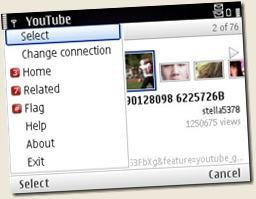 youtube video application for nokia e71